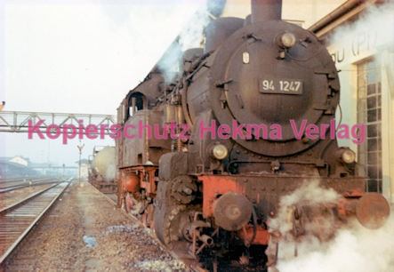 Landau/Pfalz Eisenbahn - Bahnbetriebswerk Landau - Lok 94 1247 - Bild 4