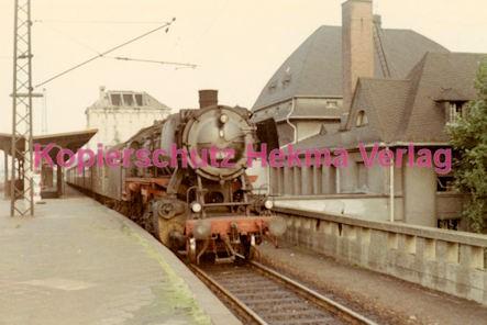Landweiler Reeden Eisenbahn - Bahnhof Frankfurt Höchst- Lok 50 525 - Bild 1