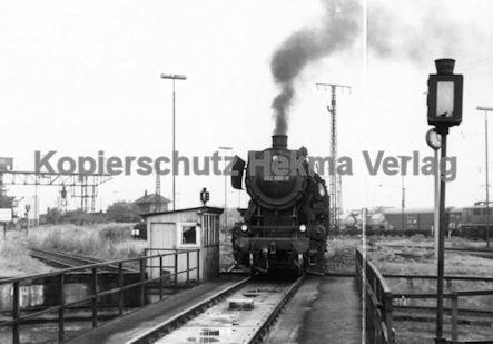 Mannheim Eisenbahn - Bahnbetriebswerk Mannheim - Lok 052 990-9