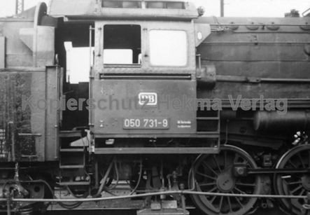 Mannheim Eisenbahn - Bahnbetriebswerk Mannheim - Lok 050 731-9
