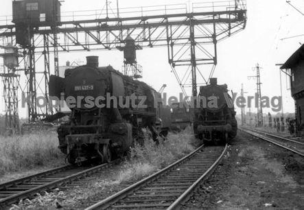 Mannheim Eisenbahn - Bahnbetriebswerk Mannheim - Lok 051 427-3