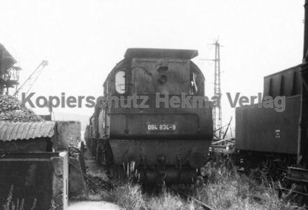 Mannheim Eisenbahn - Bahnbetriebswerk Mannheim - Lok 94 834-9