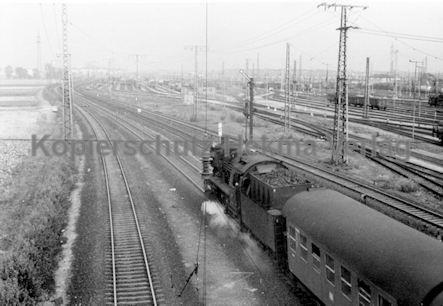 Mannheim Eisenbahn - Bahnbetriebswerk Mannheim - Lok