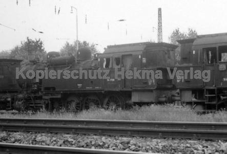 Mannheim Eisenbahn - Mannheim Friedrichsfeld - Lok 94 1720