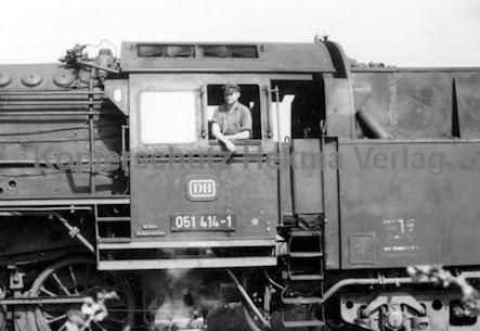 Mannheim Eisenbahn - Mannheim Friedrichsfeld - Lok 051 414-1