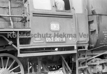 Mannheim Eisenbahn - Mannheim Friedrichsfeld - Lok 053 061-8