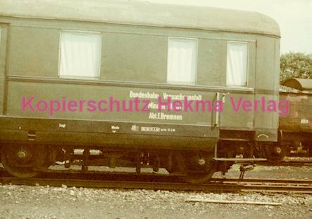 Minden Eisenbahn - Versuchsanstalt - Bremsversuche