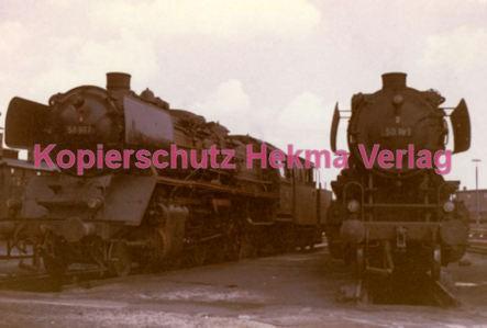 Neumünster Eisenbahn - Bahnbetriebswerk Neumünster - Lok 50 189