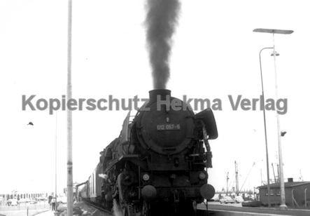 Norddeich Mole Eisenbahn - Lok 012 057-6