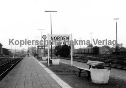 Norddeich Mole Eisenbahn - Bahnhof Norden