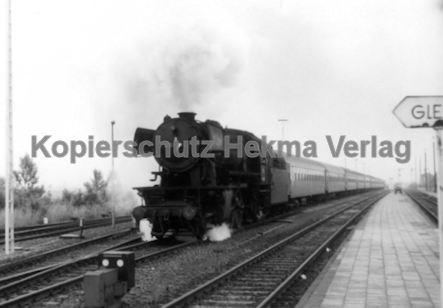 Norddeich Mole Eisenbahn - Bahnhof Norden - Lok 023 078-9