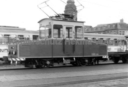 Mannheim Straßenbahn - OEG - Depot Edingen - Wagen Nr. 6