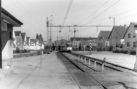 Mannheim Straßenbahn - OEG - Depot Edingen - Wagen