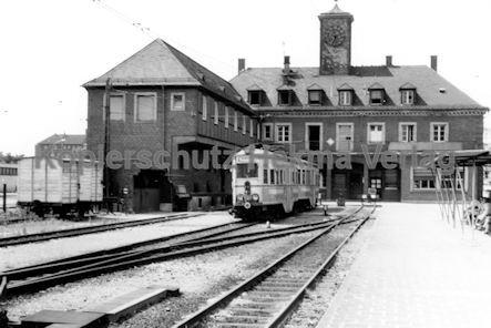 Mannheim Straßenbahn - OEG - Weinheimer Bahnhof - Wagen