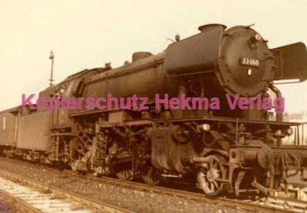 Osterburgen Eisenbahn - Bahnbetriebswerk Osterburgen - Lok 26 060