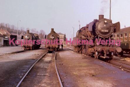 Osterburgen Eisenbahn - Bahnhof Osterburgen - Lok 50 1413 - Bild 1