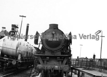 Rheine Eisenbahn - Bahnbetriebswerk Rheine - Lok 042 106-5
