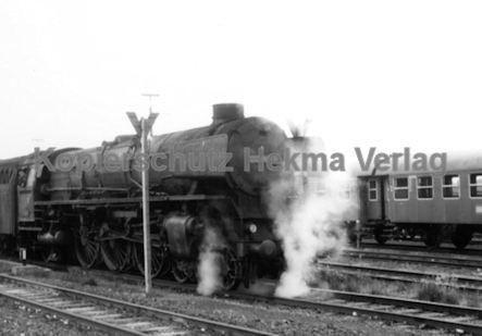 Rheine Eisenbahn - Bahnbetriebswerk Rheine - Lok 012 057-6