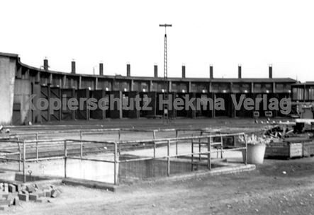 Rheine Eisenbahn - Bahnbetriebswerk Rheine - Lokschuppen