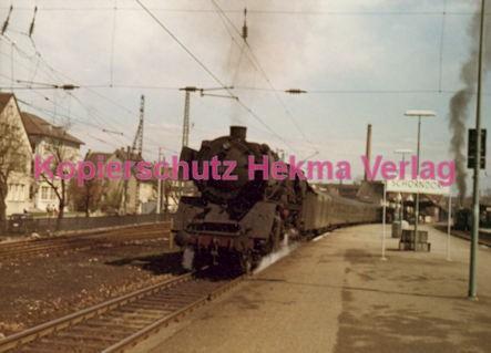 Schorndorf Eisenbahn - Bahnhof Schorndorf - Lok 01 282 - Letzte planmäßige Fahrt - Bild 2