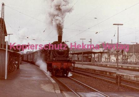 Schorndorf Eisenbahn - Bahnhof Schorndorf - Lok 78 195 - Bild 1
