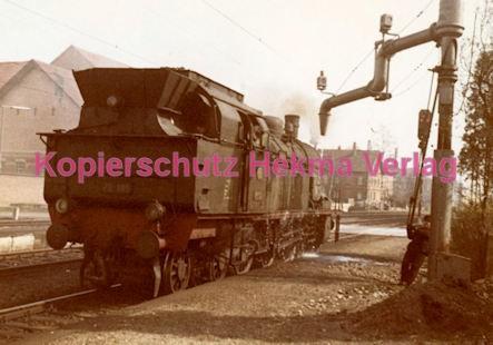 Schorndorf Eisenbahn - Bahnhof Schorndorf - Lok beim Wasser aufnehmen