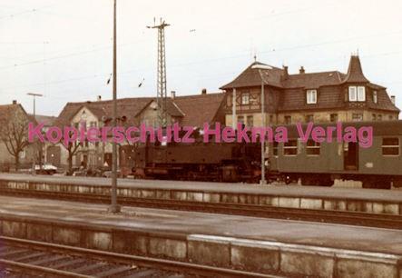 Schorndorf Eisenbahn - Bahnhof Schorndorf - Lok