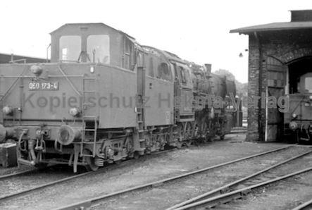 Soltau Eisenbahn - Bahnbetriebswerk Soltau - Lok 050 173-4 - Bild 1