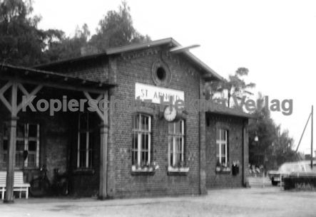 St. Arnold Eisenbahn - Bahnhof St. Arnold