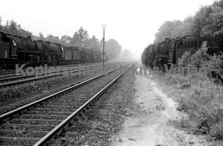 St. Arnold Eisenbahn - Lokfriedhof