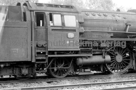 St. Arnold Eisenbahn - Lokfriedhof - Lok 01 1099