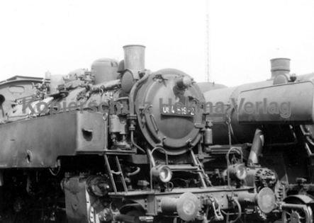 Tübingen Eisenbahn - Bahnbetriebswerk - Lok 064 519-2