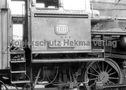 Tübingen Eisenbahn - Bahnbetriebswerk - Lok 050 383-9