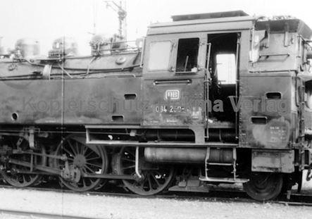 Tübingen Eisenbahn - Bahnbetriebswerk - Lok 064 250-4