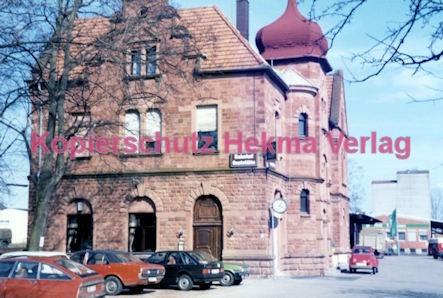 Bad Bergzabern (Pfalz) Eisenbahn - Bahnhofsgebäude