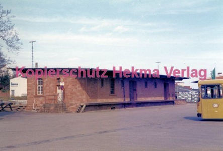 Bad Bergzabern (Pfalz) Eisenbahn - Frachtschuppen