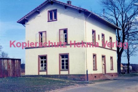 Barbelroth (Pfalz) Eisenbahn - Bahnhofsgebäude