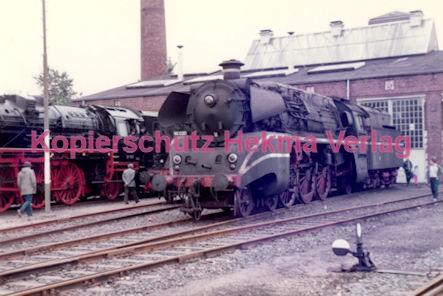 Frankfurt Eisenbahn - Lokschau - Hafengelände Hanauer Landstr. - Lok 18 314