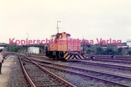 Frankfurt Eisenbahn - Lokschau - Hafengelände Hanauer Landstr. - Diesellok der Hafenbahn