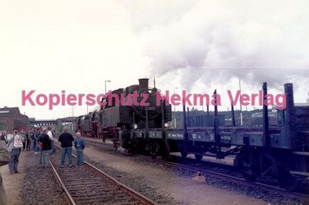 Frankfurt Eisenbahn - Lokschau - Hafengelände Hanauer Landstr. - Lok 81 1001