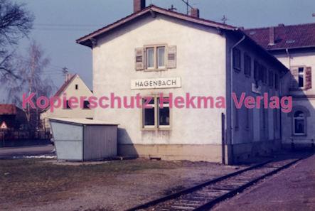 Hagenbach (Pfalz) Eisenbahn - Bahnhof