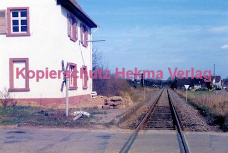 Kapellen (Pfalz) Eisenbahn - Bahnhofsgebäude