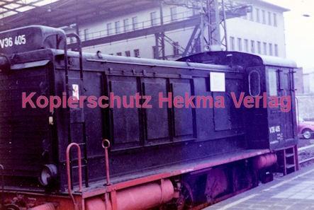 Wiesbaden Eisenbahn - Hauptbahnhof - Lok V36 405