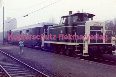 Wiesbaden Eisenbahn - Hauptbahnhof - Lok 261 146-5