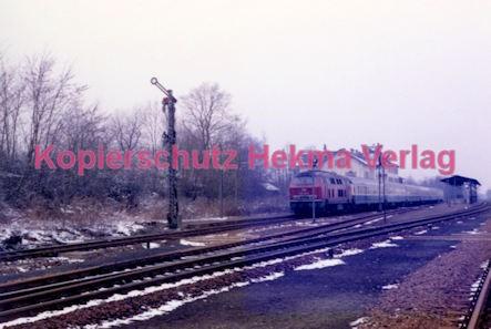 Winden (Pfalz) Eisenbahn - Bahnhof