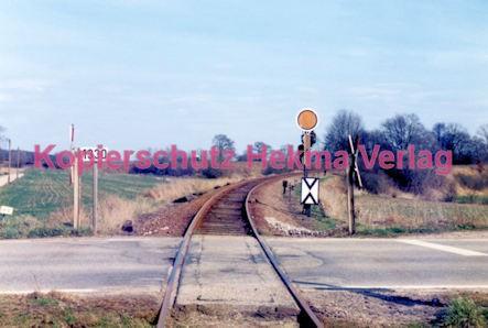 Winden (Pfalz) Eisenbahn - Bahnübergang