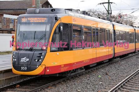 Germersheim Straßenbahn - Bahnhof - AVG - Linie S51 - Wagen Nr. 959