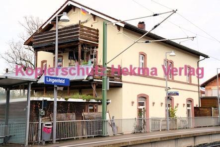 Lingenfeld Eisenbahn - Bahnhof - Bahnhofsgebäude