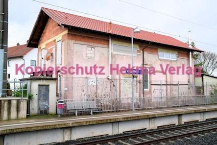 Lingenfeld Eisenbahn - Bahnhof - Güterabfertigung