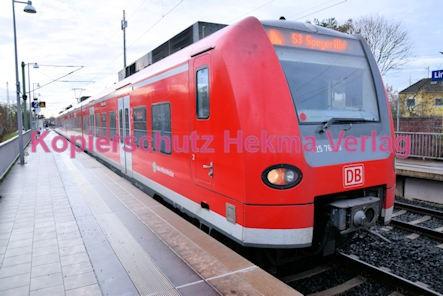 Lingenfeld Eisenbahn - Bahnhof - Linie S3 - Zug 425 764-8